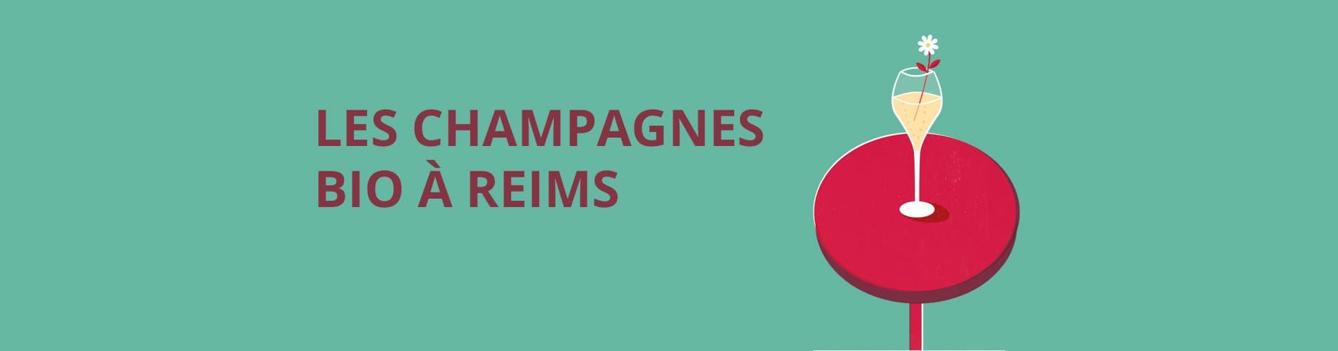 Carte les champagnes bio a reims