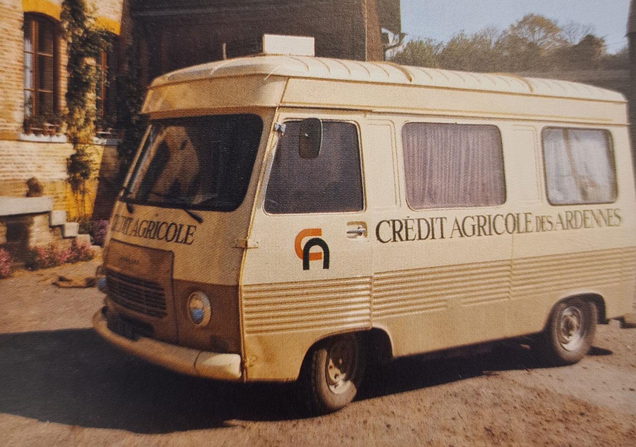 Camion banque Crédit Agricole du Nord Est